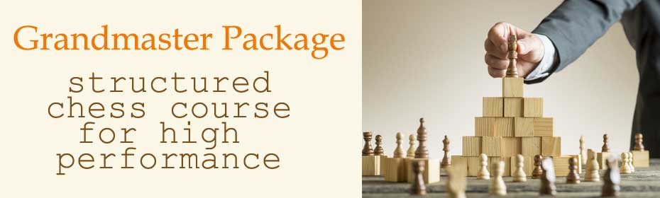 structured chess course for high performance